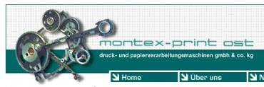 montex-print ost druck- und papierverarbeitungsmaschinen gmbh & co kg