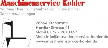 Maschinenservice-KOHLER