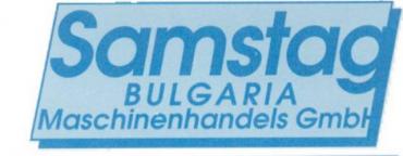 Samstag Bulgaria Maschinenhandels GmbH