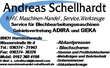 Andreas Schellhardt fr.Hv. Maschinenhandel & Service