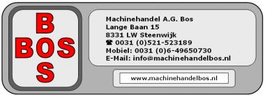 Machinehandel A.G.Bos