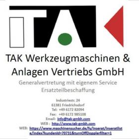 TAK- Werkzeugmaschinen und Anlagen Vertriebs GmbH