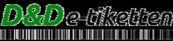 logo D & D e-tiketten