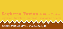Logo Segheria Tavian