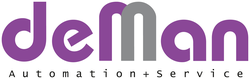 심벌 마크 de Man Automation + Service GmbH & Co. KG