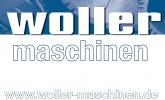 Логотип Woller Maschinen