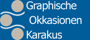 Logotipas Graphische Okkasinen Karakus