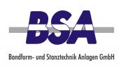 Logo BSA GmbH / Bandform- und Stanztechnikanlagen GmbH
