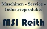 Logo MSI Reith Maschinen-Service-Industrieprodukte