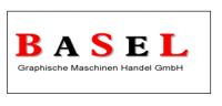 Logo Basel Graphische Maschinen Handel GmbH