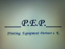 Logo P.E.P. Printing Equipment Partner e.K.