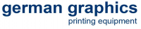 Logo gg german graphics Graphische Maschinen GmbH