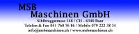 Logo MSB Maschinen GmbH