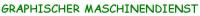 Logo Graphischer Maschinendienst