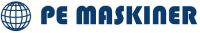 Logo P E Maskiner