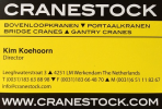 Logo Cranestock International B.V.