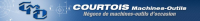Логотип COURTOIS MACHINES-OUTILS