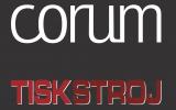 Logo TISKSTROJ d.o.o. CORUM AB Sweden