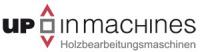 Logo up in machines GmbH - Holzbearbeitungsmaschinen