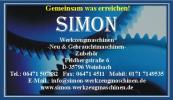 Logo Simon Werkzeugmaschinen
