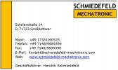 Логотип Schmiedefeld Mechatronic