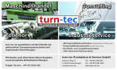 Логотип turn-tec Produktion & Service GmbH