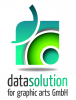 Логотип datasolution for graphic arts GmbH