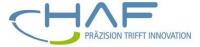 Logo Haf Präzisionstechnik
