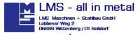 Logo LMS Maschinen-u. Stahlbau GmbH