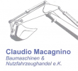 Логотип Claudio Macagnino Baumaschinen & Nutzfahrzeughandel e.K.