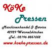 Logo KöKe-Pressen Maschinen Handel & Service Carsten Köhler-Michael Keil OHG