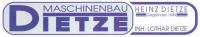 Logo Maschinenbau Dietze