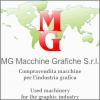 Logo MG Macchine Grafiche srl.
