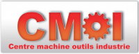 Logo centre machine outils industrie