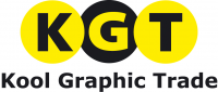 Logotips KGT Kool Graphic Trade BV