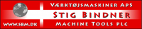 Логотип Stig Bindner Machine Tools Plc.