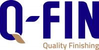 Logotips Q-Fin Quality Finishing Machines