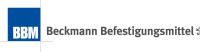 Logo Beckmann Befestigungsmittel e.K.