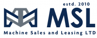 Логотип MSL Machine Sales and Leasing