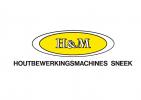 Логотип H&M houtbewerkingsmachines BV