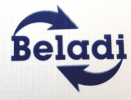 Logotips Beladi primary materials co.