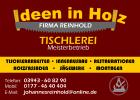 Logo Tischlerei Ideen in Holz
