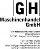 Logo GH Maschinenhandel GmbH