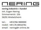 Logotipo nering industrie + handel