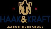 Logo Haak und Kraft - Maschinen