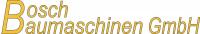 logo Bosch Baumaschinen GmbH