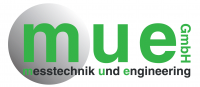 Logo m-u-e GmbH Messtechnik und Engineering