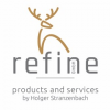 Logo refine GmbH products and services by Holger Stranzenbach