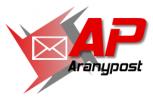 Логотип Aranypost KFT.