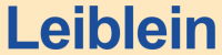 Логотип Leiblein GmbH